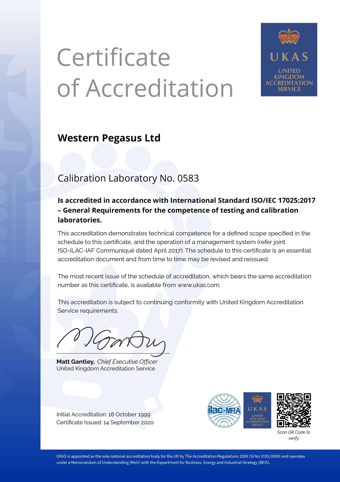 UKAS – ISO Certified rsz western pegasus ukas 17025 2017 certificate page 0011